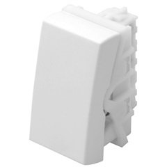 Módulo Interruptor Simples Modulare 10a 250v Branco - Fame