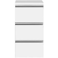 Módulo Slim com 3 Gavetas Branco - Bumi