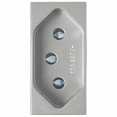 Módulo Tomada 20A Delta Alumínio