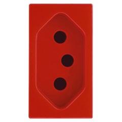 Módulo Tomada 20a Talari Vermelha 10414 - Iriel