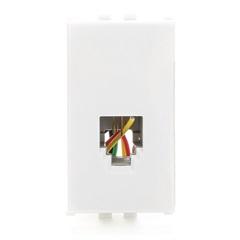 Módulo Tomada Rj 11 de Telefone  5 T 99001 - Siemens