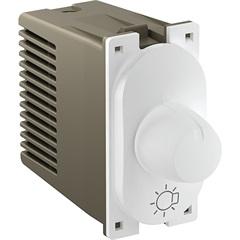 Módulo Variador Rotativo de Luminosidade 300w 127v Nereya Branco - Pial Legrand