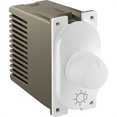 Módulo Variador Rotativo de Luminosidade 300w 127v Nereya Branco