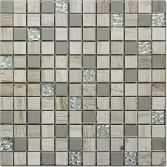 Mosaico 30.5x30.5 Rivas Peça - Colormix