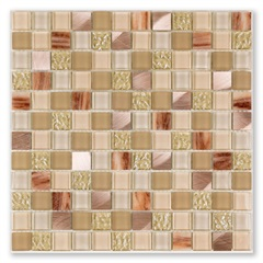 Mosaico Bold Blend Glass Be 30x30cm