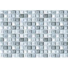 Mosaico Glass Anil Retificado Brilhante Azul 45,5x65,5cm  - Ceusa