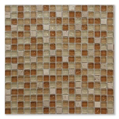 Mosaico Mármore 30.5x30.5 Cm  Peça Ref.: Naua-No26  - Colormix