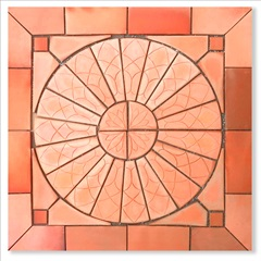 Mosaico Sol Nascente Msn 1 Peça - Fênix
