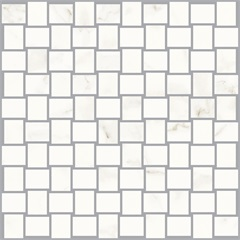 Mosaico Wave Statuario 30x30cm  - Biancogres