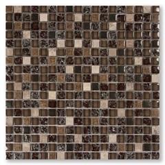 Mosaico Yacazi Vidro E Pedra 30,5x30,5cm  - Colormix