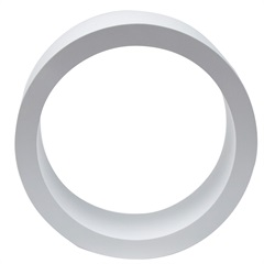 Nicho Redondo Branco 39cm - Decorprat