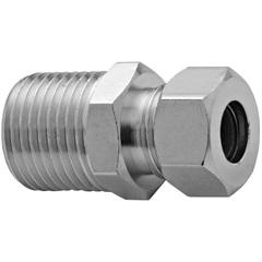 """Nilpe em Metal para Instalação de Gás 3/8x1/2"""" Cromado - Blukit"""
