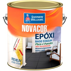 Novacor Epóxi Preto 700 3,6 Litros - Sherwin Williams