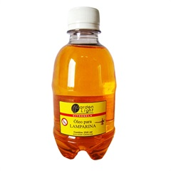 Óleo para Lamparina Citronela 250ml Ref.: 3592-7           - Garden Light