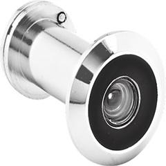 Olho Mágico para Portas 26 a 46mm Cromado Fosco - Papaiz