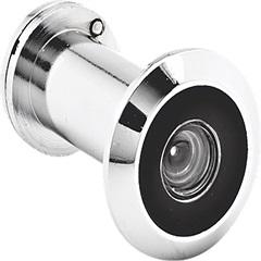 Olho Mágico para Portas 26 a 46mm Cromado - Papaiz