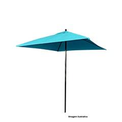 Ombrelone Quadrado Baby 2,00 X 2,00 Metros Azul - Full Delta