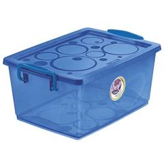 Organizador Azul com Trava 4 Litros  - Ordene