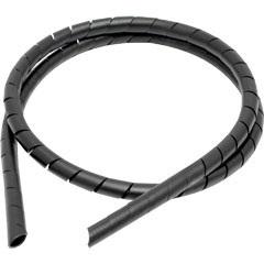 Organizador de Fios em Espiral 1/4 X 1 Metro Preto Esf/22 - Fixtil