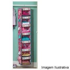 Organizador Infantil Rosa 7 Divisões - Homz
