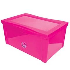 Organizador Largo Alto 65 Litros Pink  - Ordene