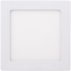 Painel de Led Quadrado de Sobrepor 12w 3000k Bivolt - Brilia