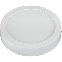 Painel Led de Sobrepor Redondo 24w Bivolt 30cm 6500k Luz Branca - Taschibra