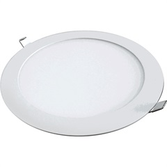 Painel Led Downlight Redondo 12w Bivolt 3000k - Golden