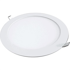 Painel Led Downlight Redondo 12w Bivolt 6000k - Golden
