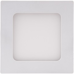 Painel Led Emb 12x12cm 6w - Brilia