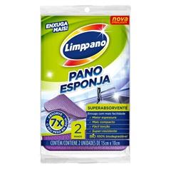 Pano Esponja Enxuga Mais - Limppano