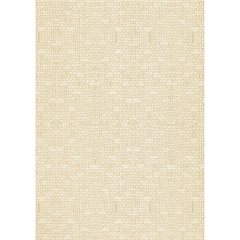 Papel de Parede Classique Tecido Bege 0,52x10 Metros  - Plavitec