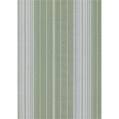 Papel de Parede Classique Verde E Cinza  0,52x10 Metros  - Plavitec