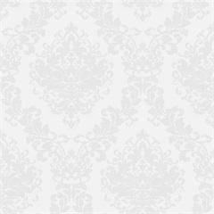 Papel de Parede Estilo Tradicional Arabesco Bege 0.53x10m - Komlog