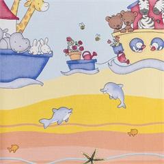 Papel de Parede Infantil 0,53x5m² Kids - Glass Mosaic