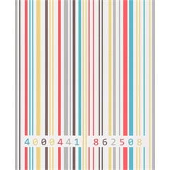 Papel de Parede Letras Coloridas 53cm X 10m Tic Tac - Importado