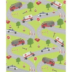 Papel de Parede Ruas E Carros 53cm X 10m Tic Tac - Importado