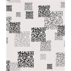 Papel de Parede Tic Tac Códigos 53cm com 10 Metros - Finottato