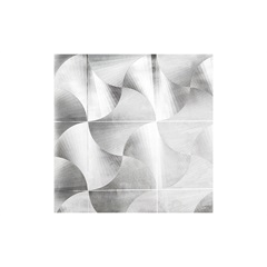 Papel Parede Vinílico  0,53x10m 501122 - Glass Mosaic