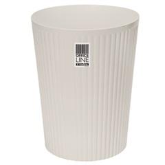 Papeleiro Canelado Branco 9,3 Litros - Ordene