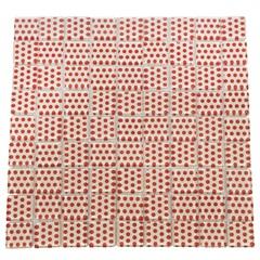 Pastilha 30 X 30 Cm Dots Laranja 1 Peça - Henry