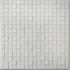 Pastilha Borda Bold Craquelada Branca 29,5x29,5cm - Henry