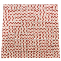 Pastilha Dots Laranjna 30x30  - Henry