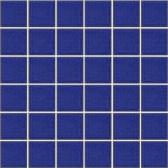 Pastilha Esmaltada Decoração Azul Viscaya 5x5cm - Jatobá