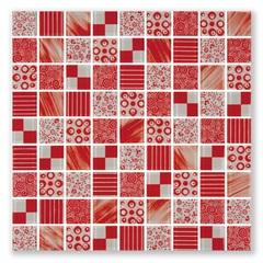 Pastilha Mix Vermelho 30x30 - Henry