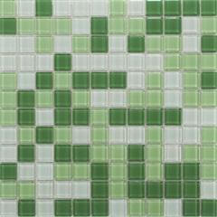 Pastilha Parede Verde E Branco 30x30cm - Colormix