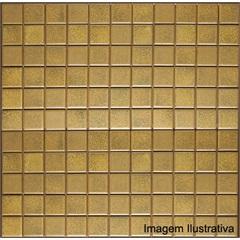 Pastilha Porcelana 2,5x2,5 Amarelo Indochina Ref.: Jd4904 - Jatobá