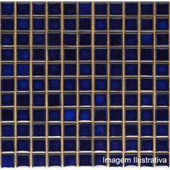 Pastilha Porcelana 2,5x2,5 Azul Equatorial Ref.: Jd4814 - Jatobá