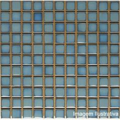 Pastilha Porcelana 2,5x2,5 Azul Ibérico Ref.: Jd4812 - Jatobá