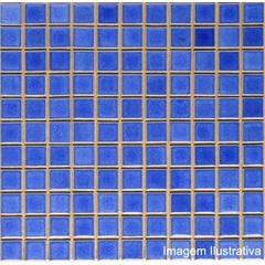 Pastilha Porcelna 2,5x2,5 Azulviscaya Ref.: Jd4810 - Jatobá